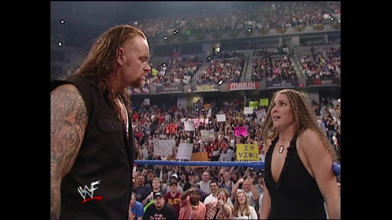 WWF Smack Down 3rd May 2001 - The Undertaker just took back his yard!
