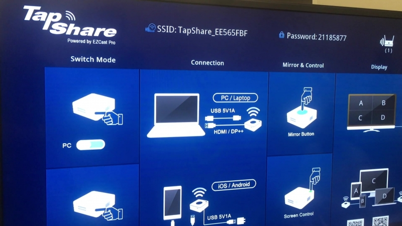 Lumens TapShare в вебинаре Hi-Tech Media 9 октября