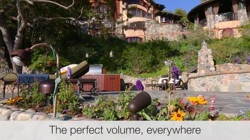Outdoor Audio HD Экстремальная и всепогодная акустика Sonance