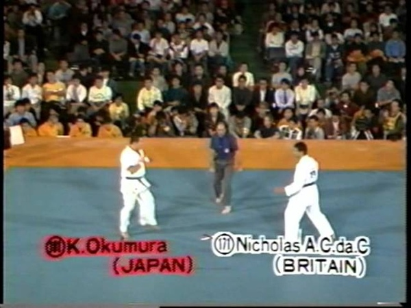 The 4th World Open Karate Tournament 1987