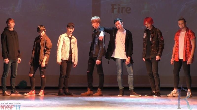 NYAF 2017. 2L8 (Ижевск) Fire (Bangtan Boys Cover)