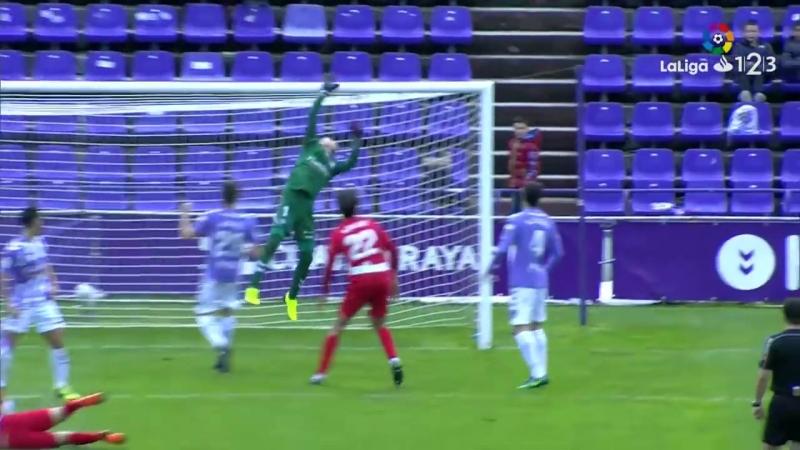 Реал Вальядолид CF - UD Альмерия, 2-1, Сегунда 2017-2018, 31 тур