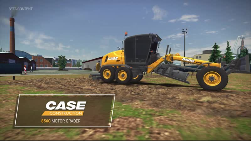 Техника CASE в новом трейлере игры Construction Simulator 3!