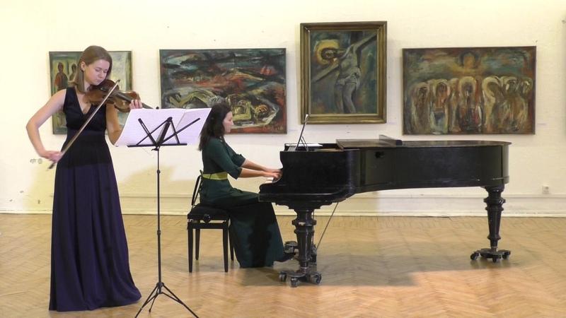 """Антонио Вивальди """"Зима"""", цикл """"Времена Года"""" Op.8 No.4 27.12.2015 Мария Шагинова Анна Доценко"""