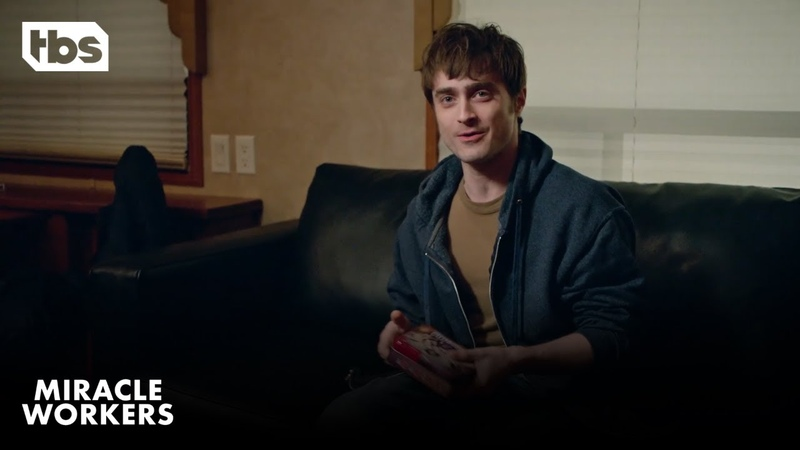 Miracle Workers: An Evening with Daniel Radcliffe in a Trailer TBS