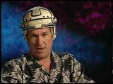 Jeff Bridges Puts on the TRON Helmet