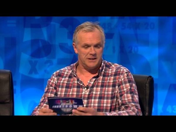 Greg Davies as Chris Eubank - 8 Out of 10 Cats Does Countdown
