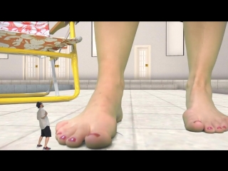 Giantess CM Footsies SFX