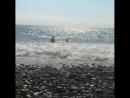 Сегодня море тихое и спокойное, словно большое зеркало