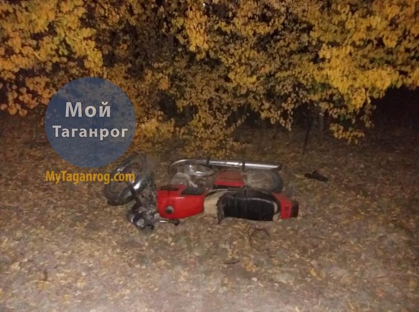 Под Таганрогом насмерть разбился 33-летний мотоциклист