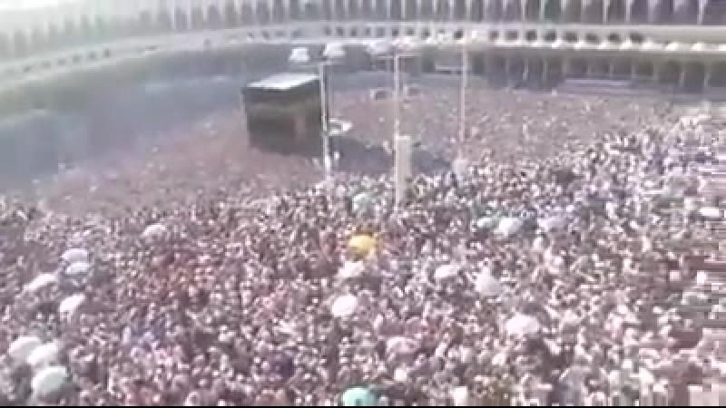 الحرم المكي الشريف ٥ ذو الحجة ١٤٣٩ هجرية اللهم يسر للحجاج حجهم