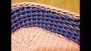 23 Мастер-класс Ситцевое плетение: Два способа. The Calico weaving tutorial. ENGLISH SUBTITLES.