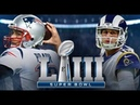 NEW ENGLAND PATRIOTS vs LOS ANGELES RAMS Super Bowl Live Stream