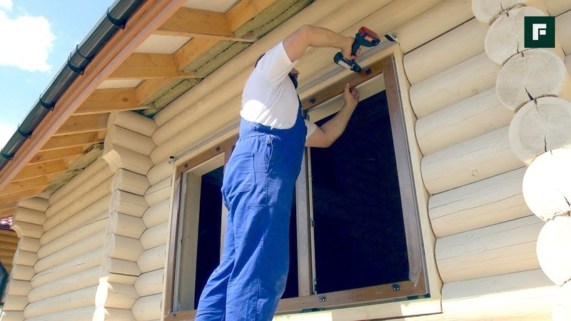 Пластиковые окна в деревянном доме особенности монтажа в обсаду FORUMHOUSE