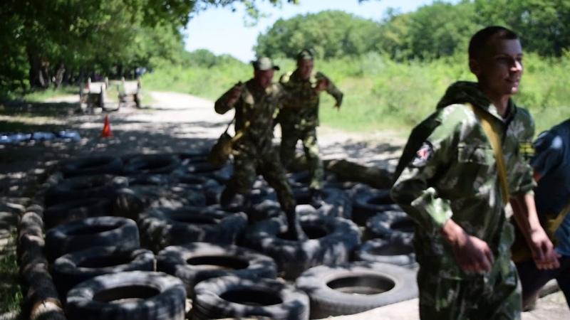 Военно-патриотические соревнования Марш-бросок
