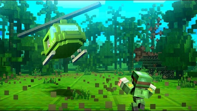 Dustoff Heli Rescue (вертолет спасает вексельный мир кубов)