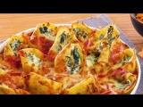 Фаршированные ракушки с сыром и шпинатом
