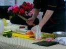 Ролл Красный дракон (пошаговый суши мастер-класс)