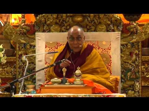 Учения Далай лама XIV для российских буддистов 20 12 2011 часть 1