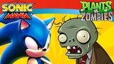 Sonic Mania in Plants vs Zombies: Ep#1