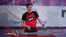Мастер класс по подготовке лыж После штайншлифта Сервисёр Александр Воробьёв