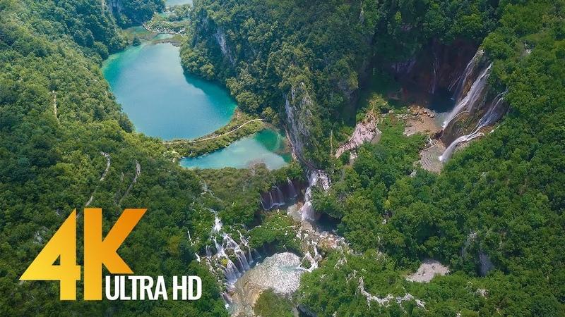 4K Drone Footage - Bird's Eye View of Croatia, Europe - 3 Hour Ambient Drone Film