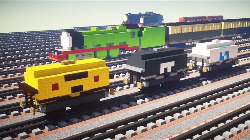 Minecraft Sodor Tanker Cars Thomas Friends Tutorial