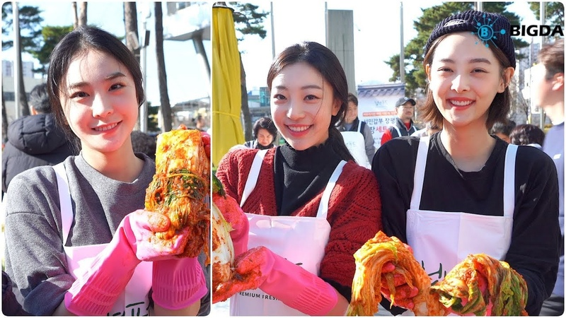 [NEWS] 181201 SONAMOO (Sumin, Nahyun, New Sun) @ Filmmakers Kimchi Sharing Event