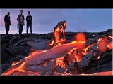 End Of Hawaii Lava Flows To Pacific Ocean New Footage Kilauea Volcano Visible From Space