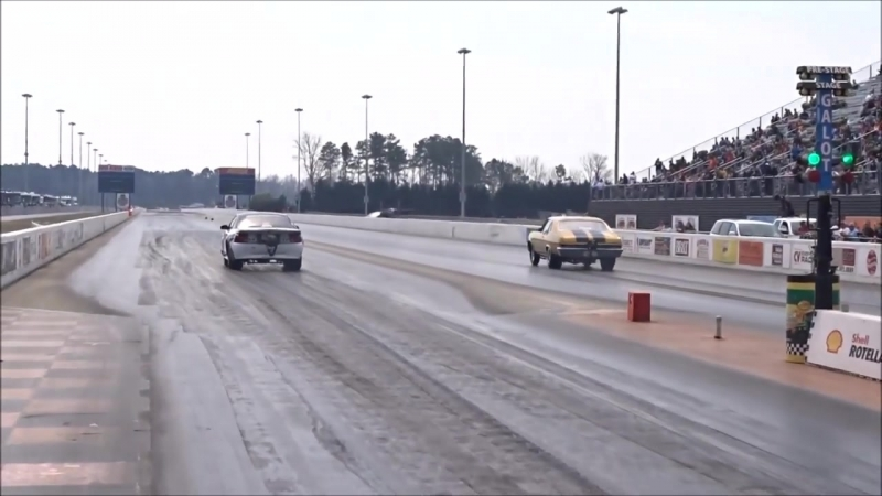 Boosted Ego vs Nitrous Nova in a close race at Galot No Prep Kings Filming