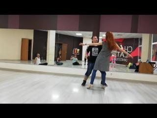 Final zouk demo. Chocolate dance studio. Krasnoyarsk 9.06.18 _ Vitaly Portnikov Daria Rudenko