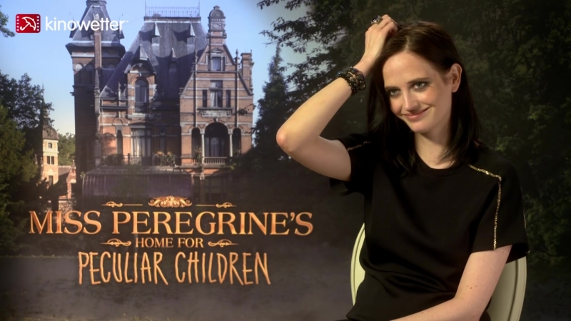 Interview Eva Green MISS PEREGRINE'S HOME FOR PECULIAR CHILDREN (3D)