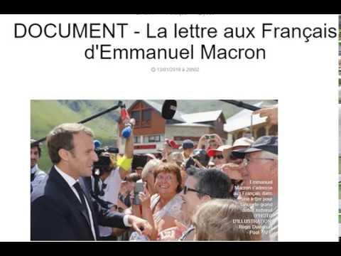 La Lettre de Macron Prévue Ce Lundi... LISEZ ATTENTIVEMENT En Mettant Pause... Ensuite Riez !