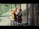 прыжок с тарзанки в Аршане