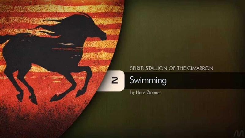 02 Hans Zimmer Spirit Stallion of the Cimarron Swimming