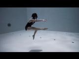 Подводная хореография в самом глубоком бассейне мира от Джули Готье
