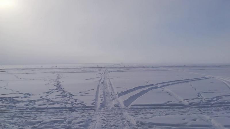 Зимний Финский залив возле Лисьего Носа