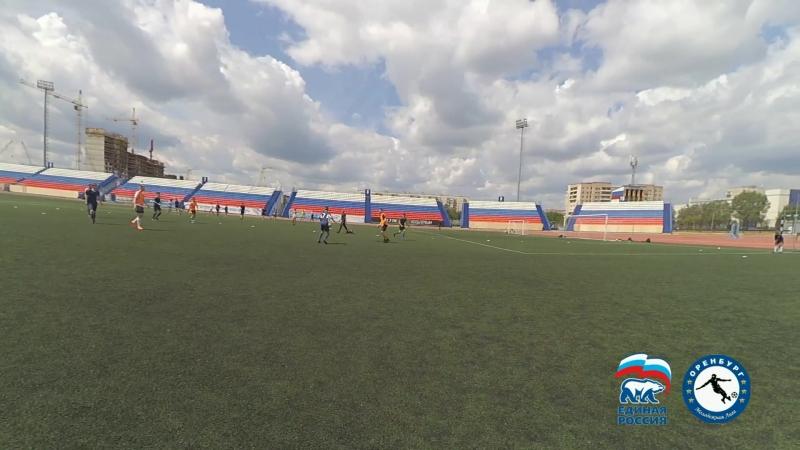ЦСК Оренбург - Аргентина 8-3 (2002-2003). 1 тайм