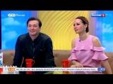 Дарья Златопольская и Сергей Безруков в программе