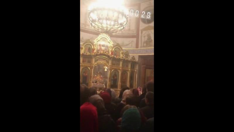 ☼ В храме на пасхальной службе ☼