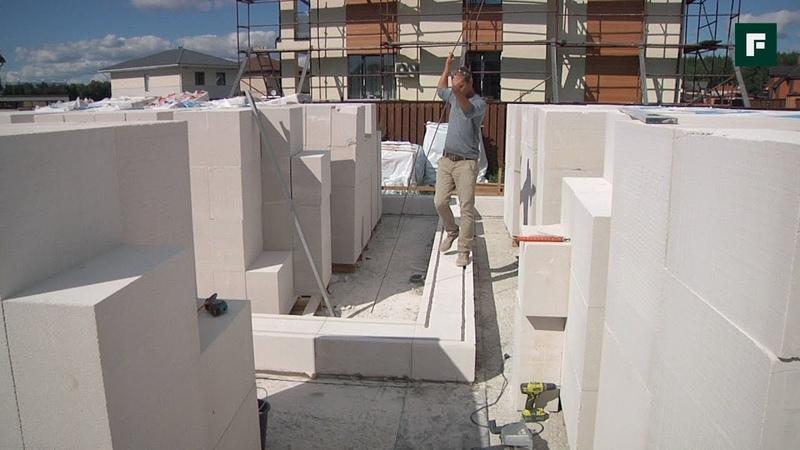 Армирование кладки из газоблоков Строительные лайфхаки FORUMHOUSE