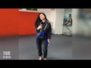 Самая Привлекательная Девушка в ДЖИУ-ДЖИТСУ - Гульжан Накипова