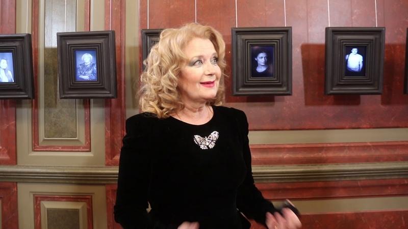 Интервью с Ириной Алфёровой на открытии театра Школа современной пьесы 25 01 2019