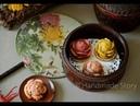 月饼系列 花卉月饼 Mooncake Series Flower mooncake