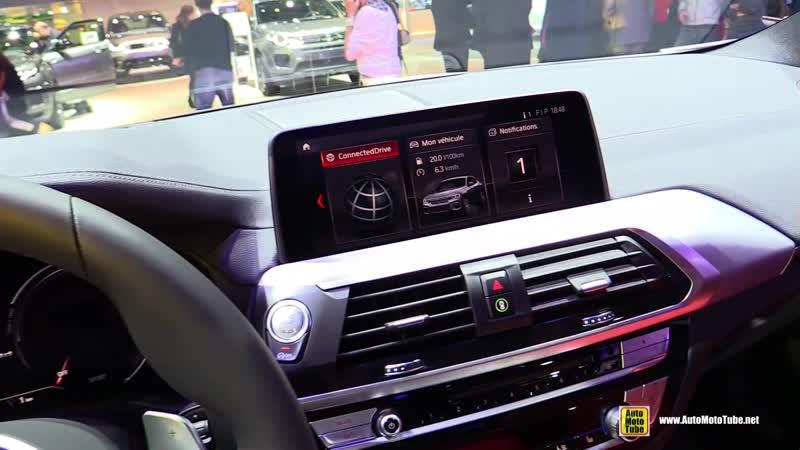 2019 BMW X4 M40d xdrive - Exterior and Interior Walkaround - 2018 Paris Motor Show
