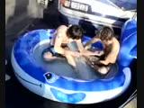 All Time Low get a kiddie pool
