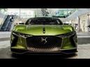2018 Citroen DS E Tense concept car 100 % électrique