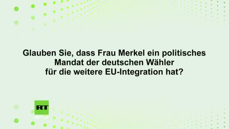 Dr. Eike Hamer zum Vertrag von Aachen: Deutsche wollen keinen europäischen Superstaat
