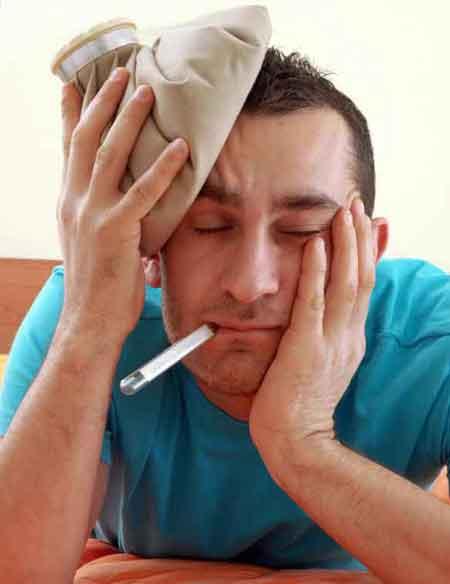 Головные боли и лихорадка являются симптомами синдрома хронической усталости