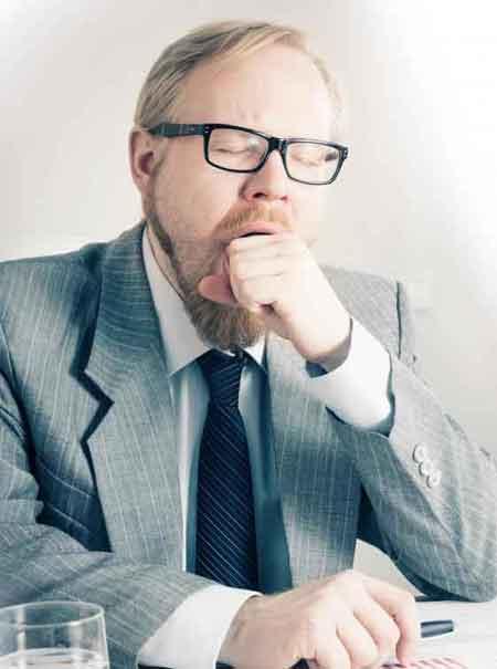 Чрезмерное зевание может быть вызвано синдромом хронической усталости
